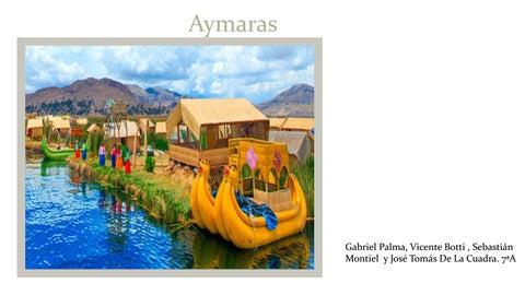 Aymara By Loreto Reyes Issuu