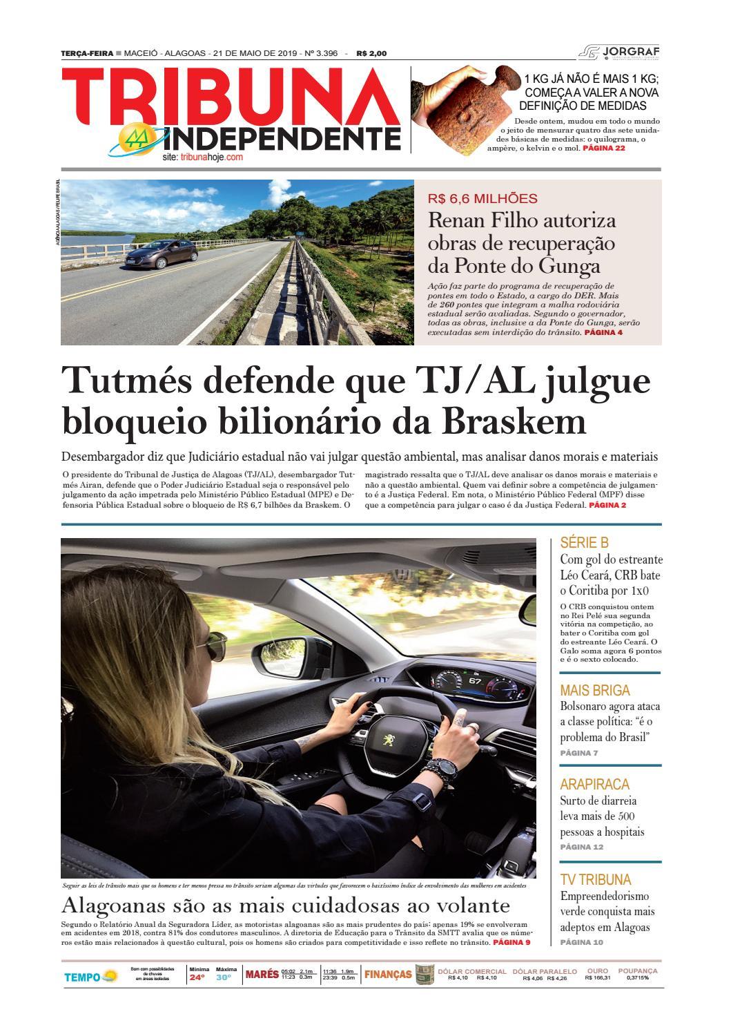 0d793dd85b216 Edição número 3396 - 21 de maio de 2019 by Tribuna Hoje - issuu