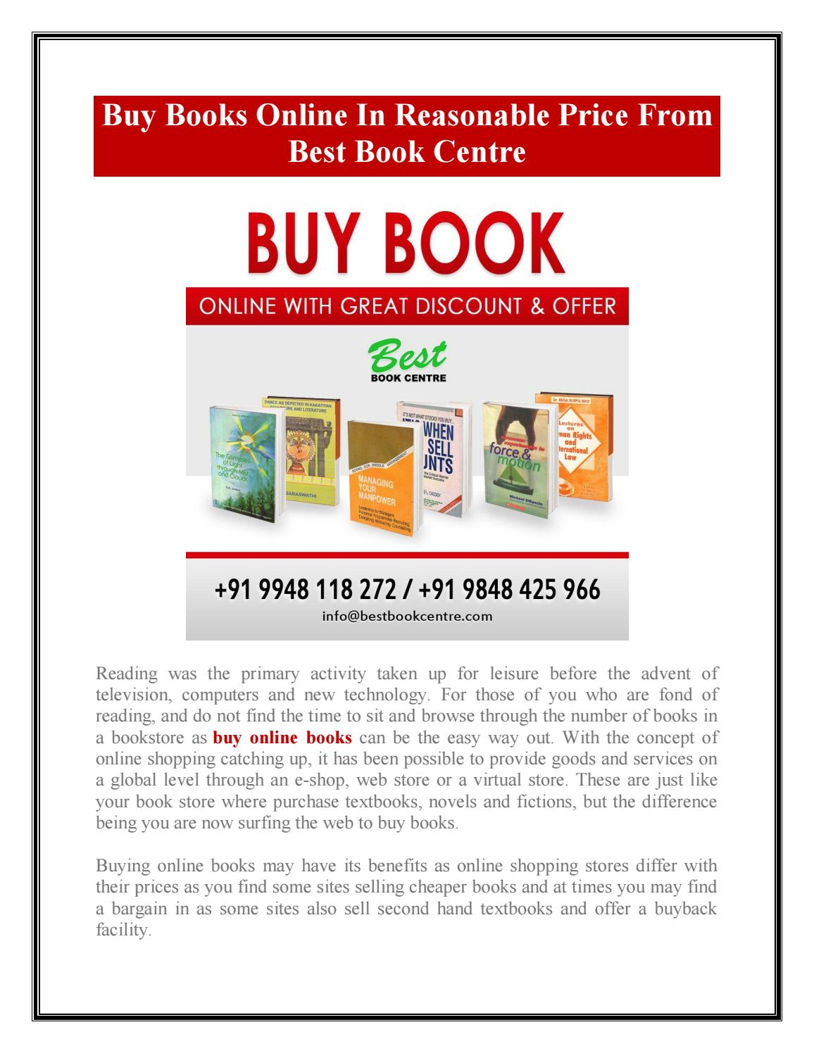 Buy Online Books by Best Book Centre - issuu