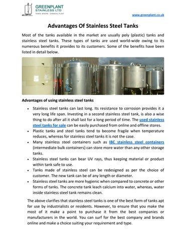 stainless steel 304 disadvantages