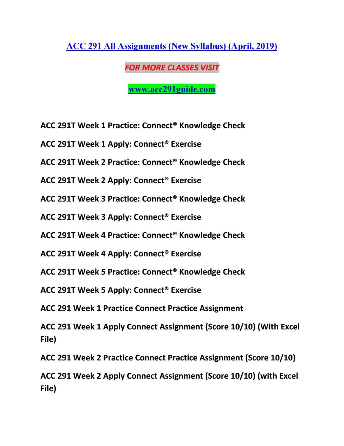 ACC 291 GUIDE New Redefined Education--acc291guide com by