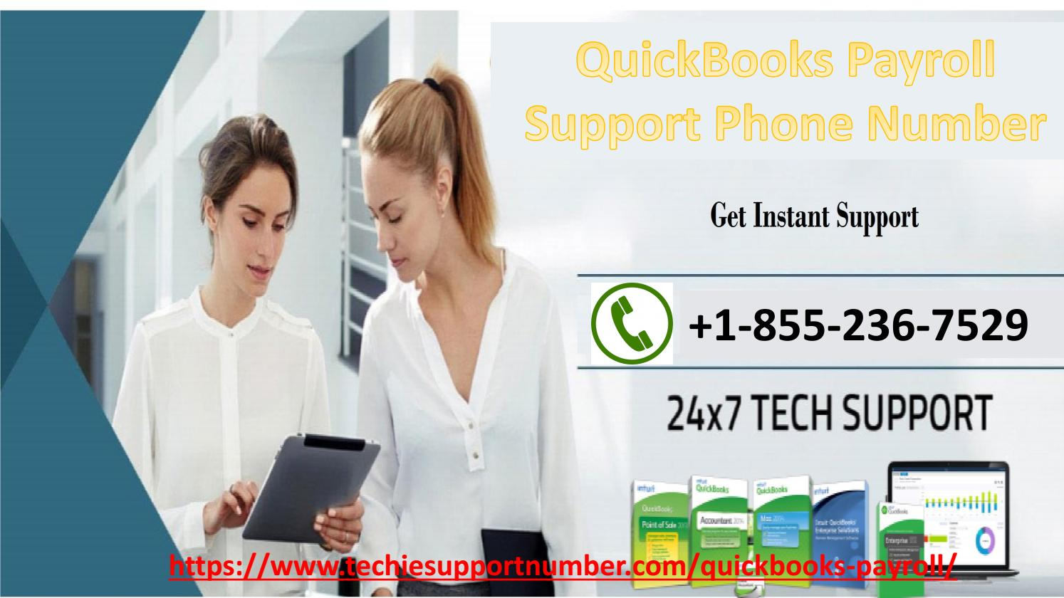 Get in touch with our team at QuickBooks Payroll Support