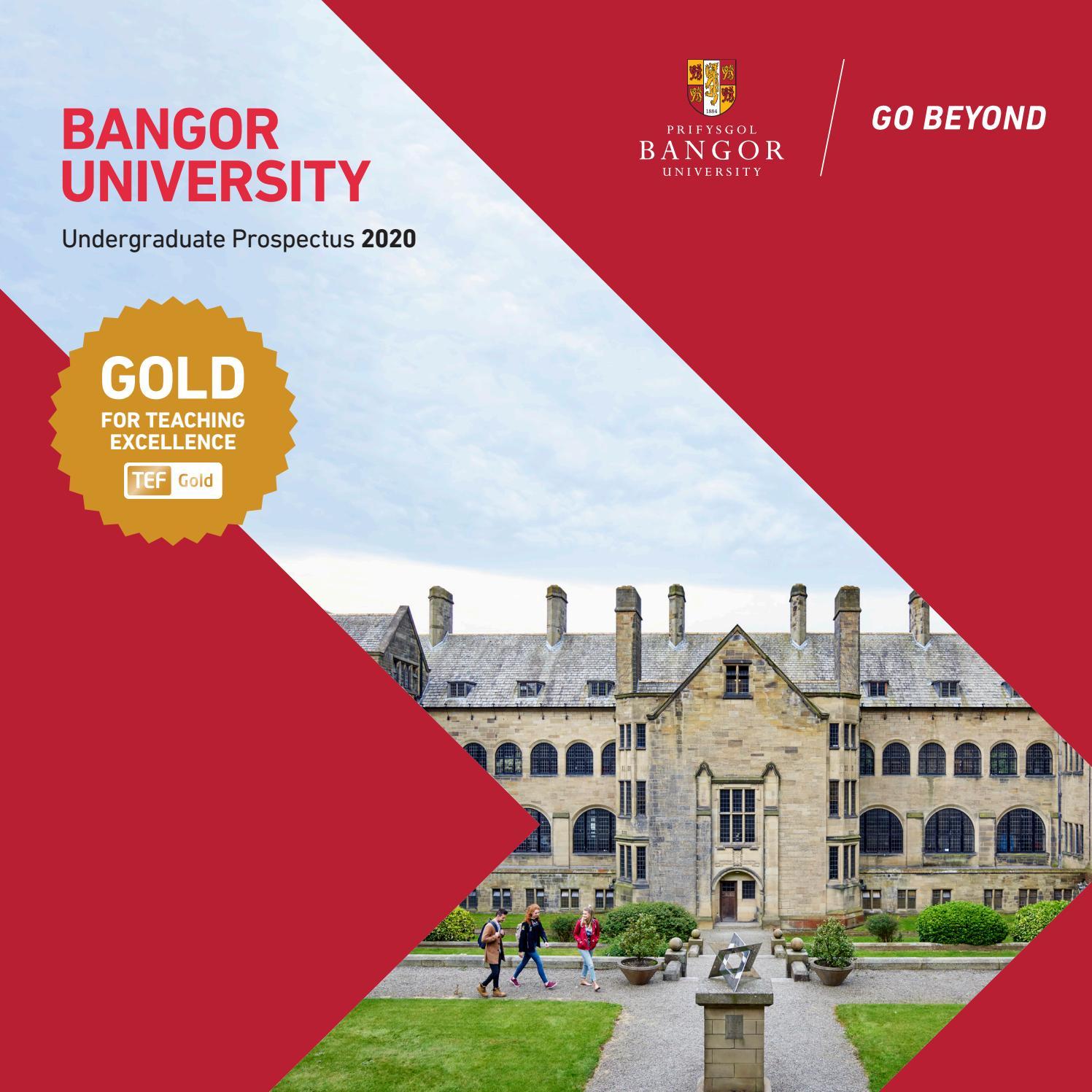 Prospectus UG English 2020 by Bangor University - issuu