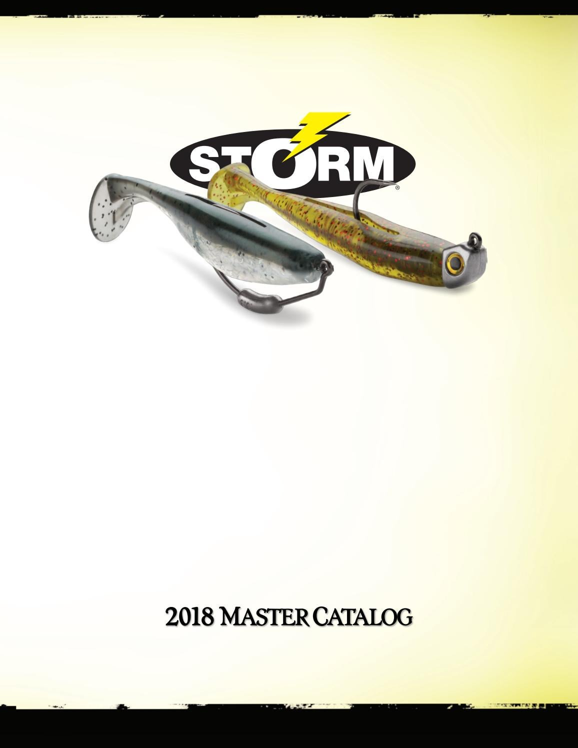 Storm Wildeye Live Redear Fishing Lures 3-Pack