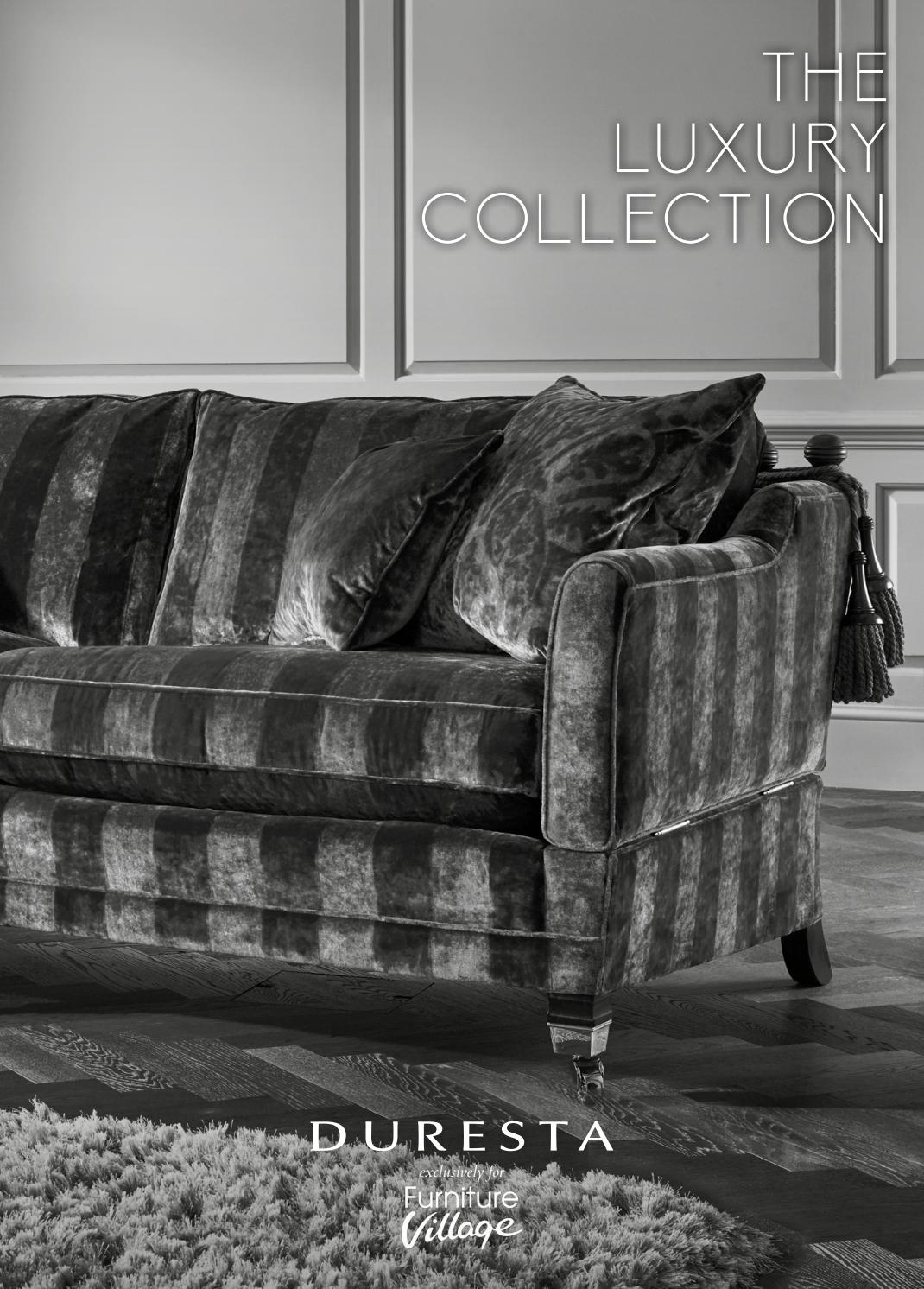 Furniture Village Luxury Collection by Duresta Upholstery
