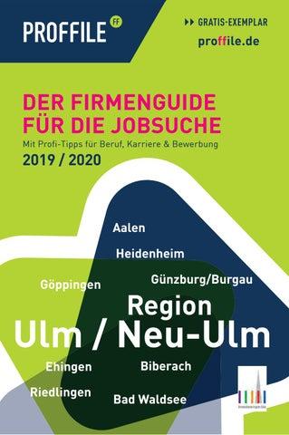 PROFFILE Ulm 2019 | Der Firmenguide für die Jobsuche by SMK