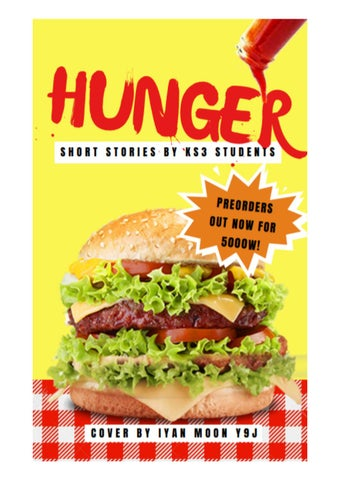 Hunger (Junior version) by Duduzile Dunicz - issuu