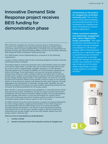 Page 15 of Innovative demand side response heat project