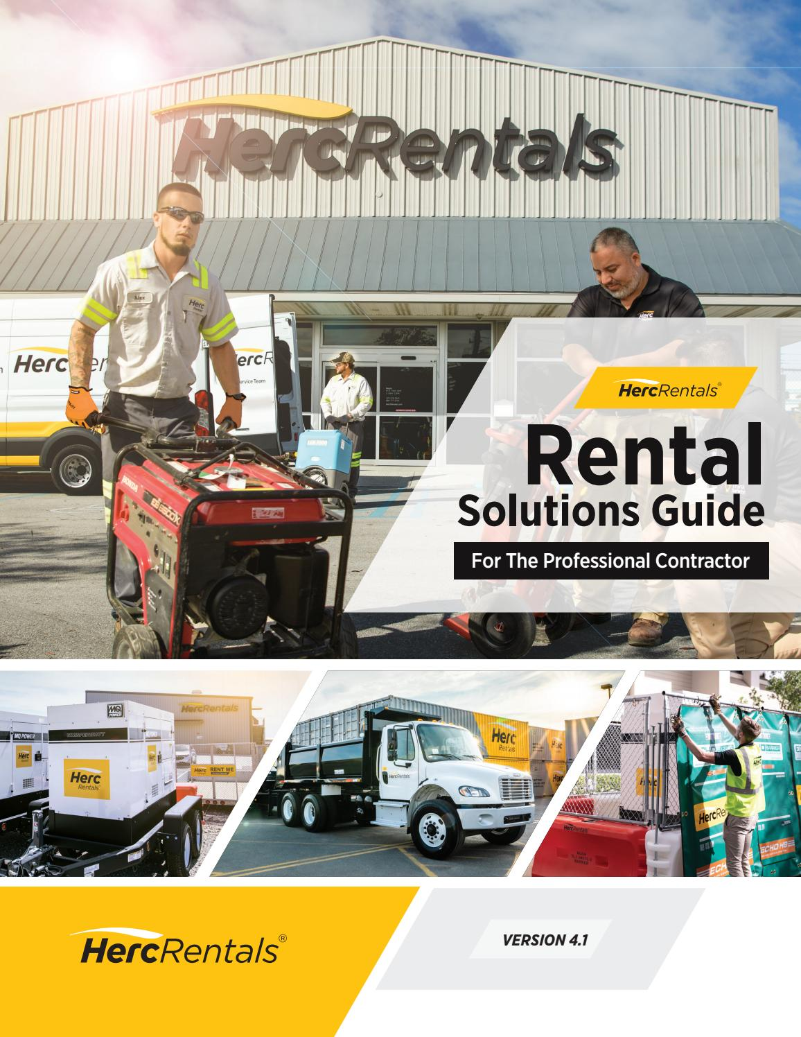 Herc Rentals Solutions Guide by Herc Rentals - issuu