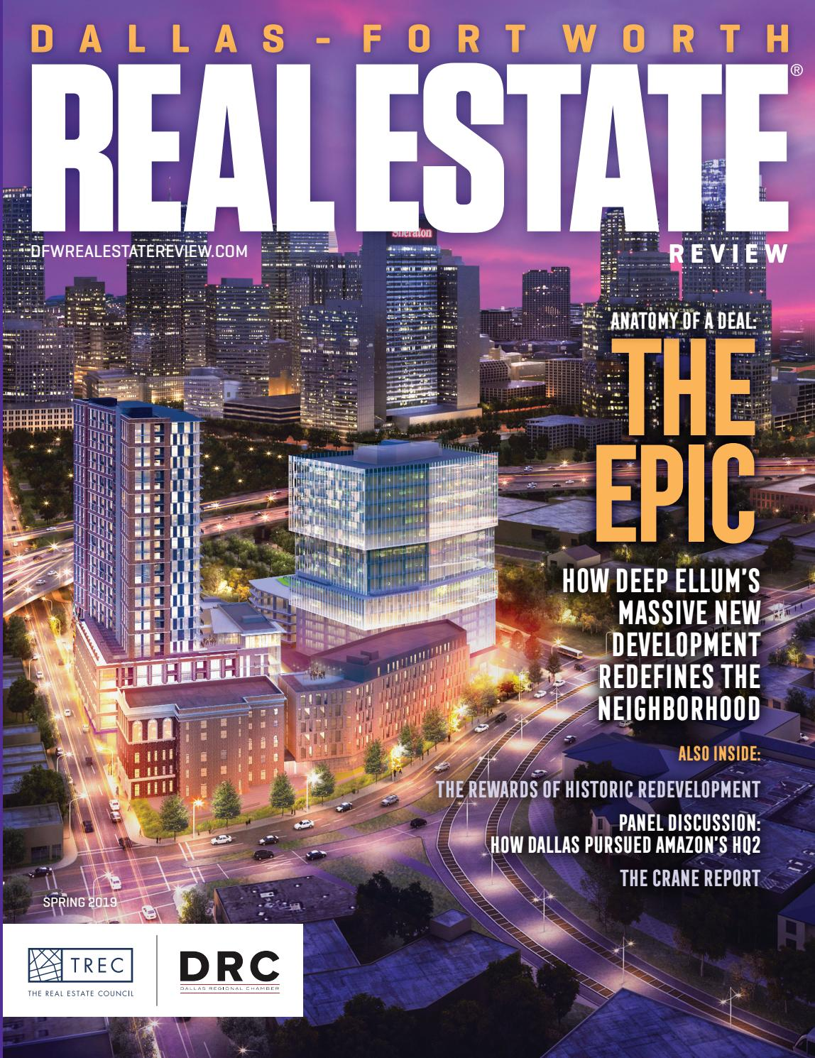 Dallas-Fort Worth Real Estate Review - Spring 2019 by Dallas