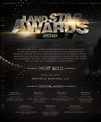 Page 30 of Land Star Awards