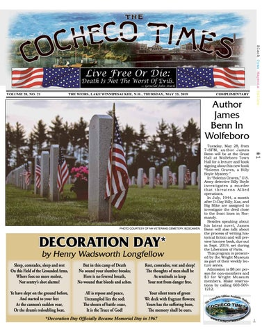 05/23/19 Cocheco Times by The Weirs Publishing Company - issuu