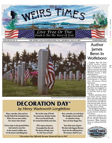 6a64bbeff 05/23/19 Weirs Times by The Weirs Publishing Company - issuu