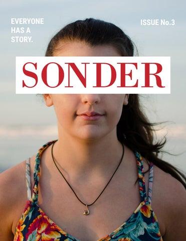 SONDER ISSUE No  3 by Sonder Magazine Online - issuu