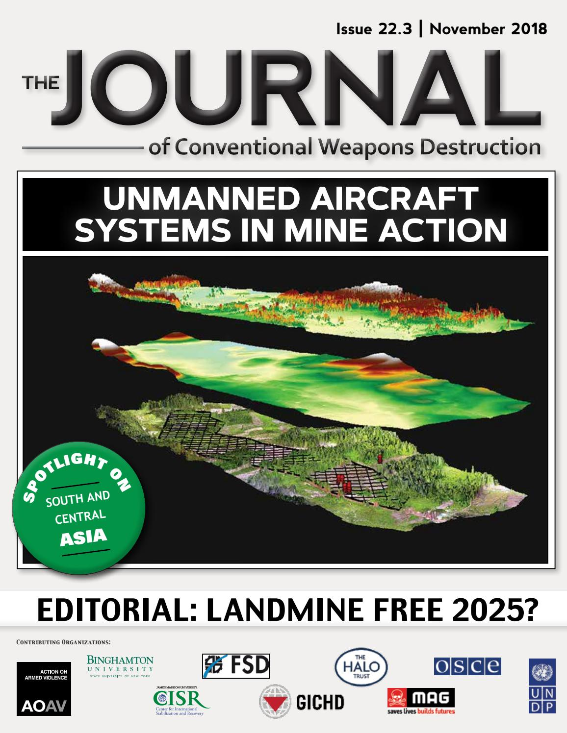 The Journal of Conventional Weapons Destruction Issue 22 3