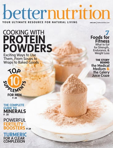 Better Nutrition Magazine June 2019 Issue by Active Interest