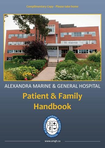 Alexandra Marine & General Hospital Patient & Family