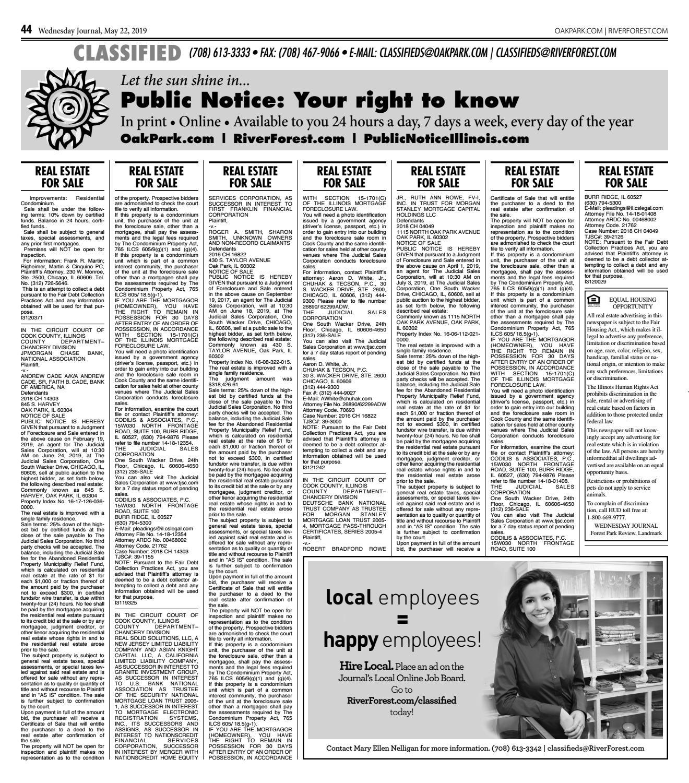 Wednesday Journal 052219 by Wednesday Journal - issuu