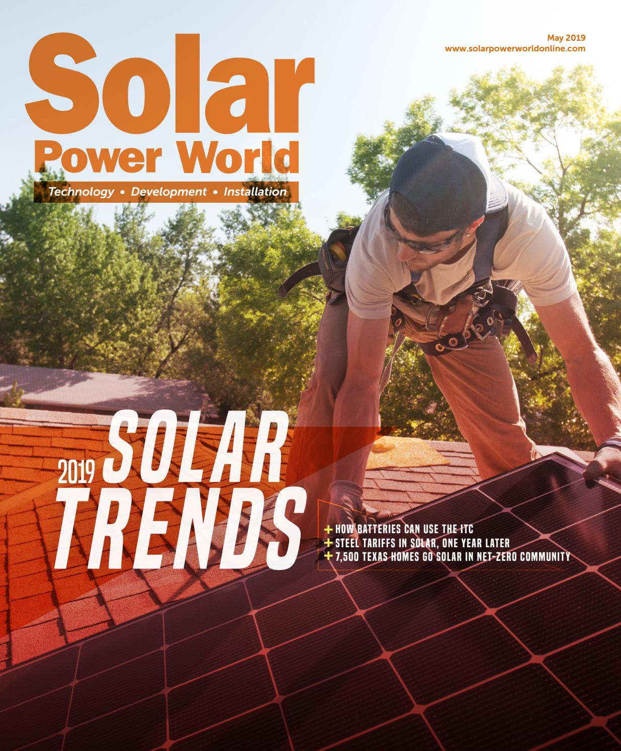 Solar Power World May 2019 by WTWH Media LLC - issuu