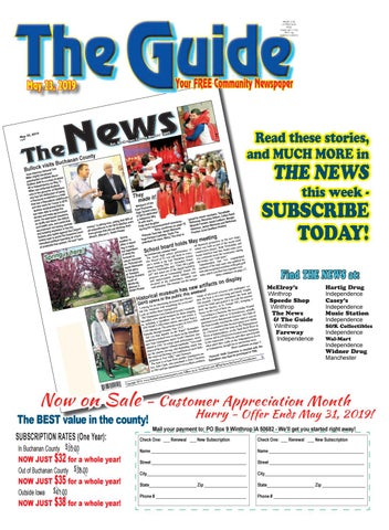 THE GUIDE 5 23 2019 by THE NEWS | Buchanan County Review - issuu