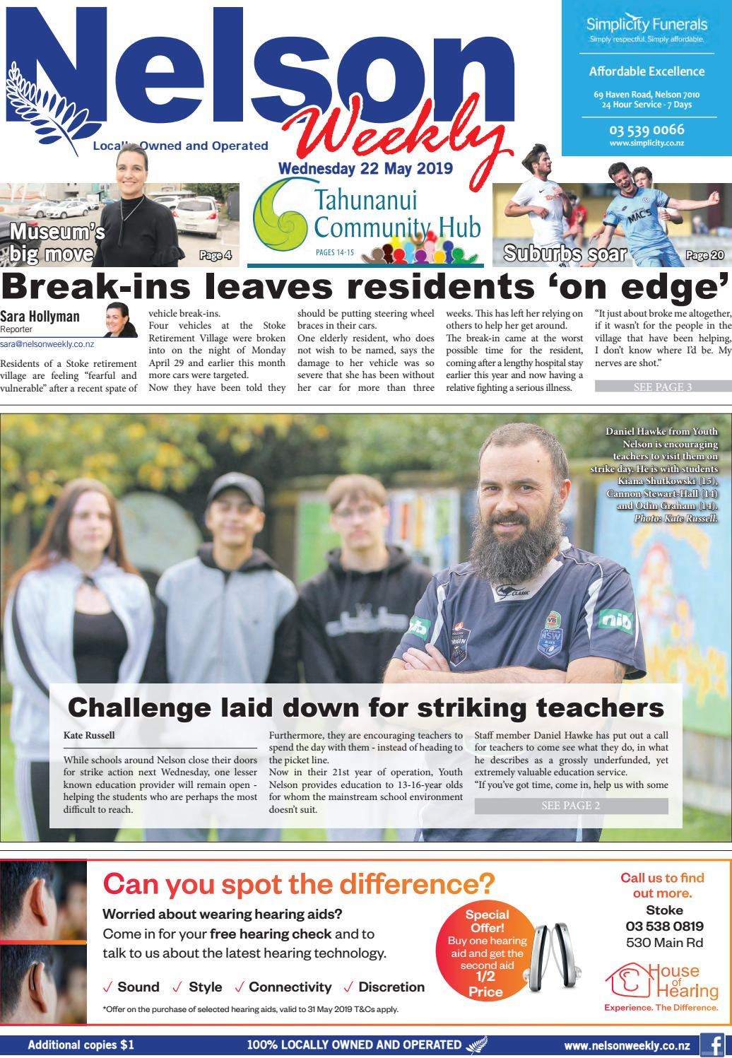 22 May 2019 by Nelson Weekly - issuu