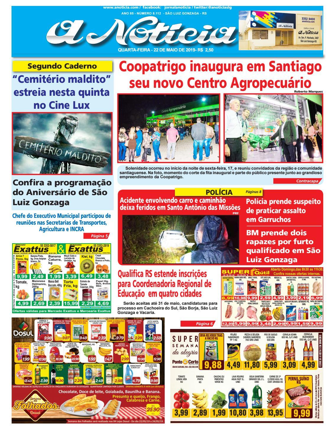 53284848d8091 Edição do dia 22 de maio de 2019 by Jornal A Notícia - issuu
