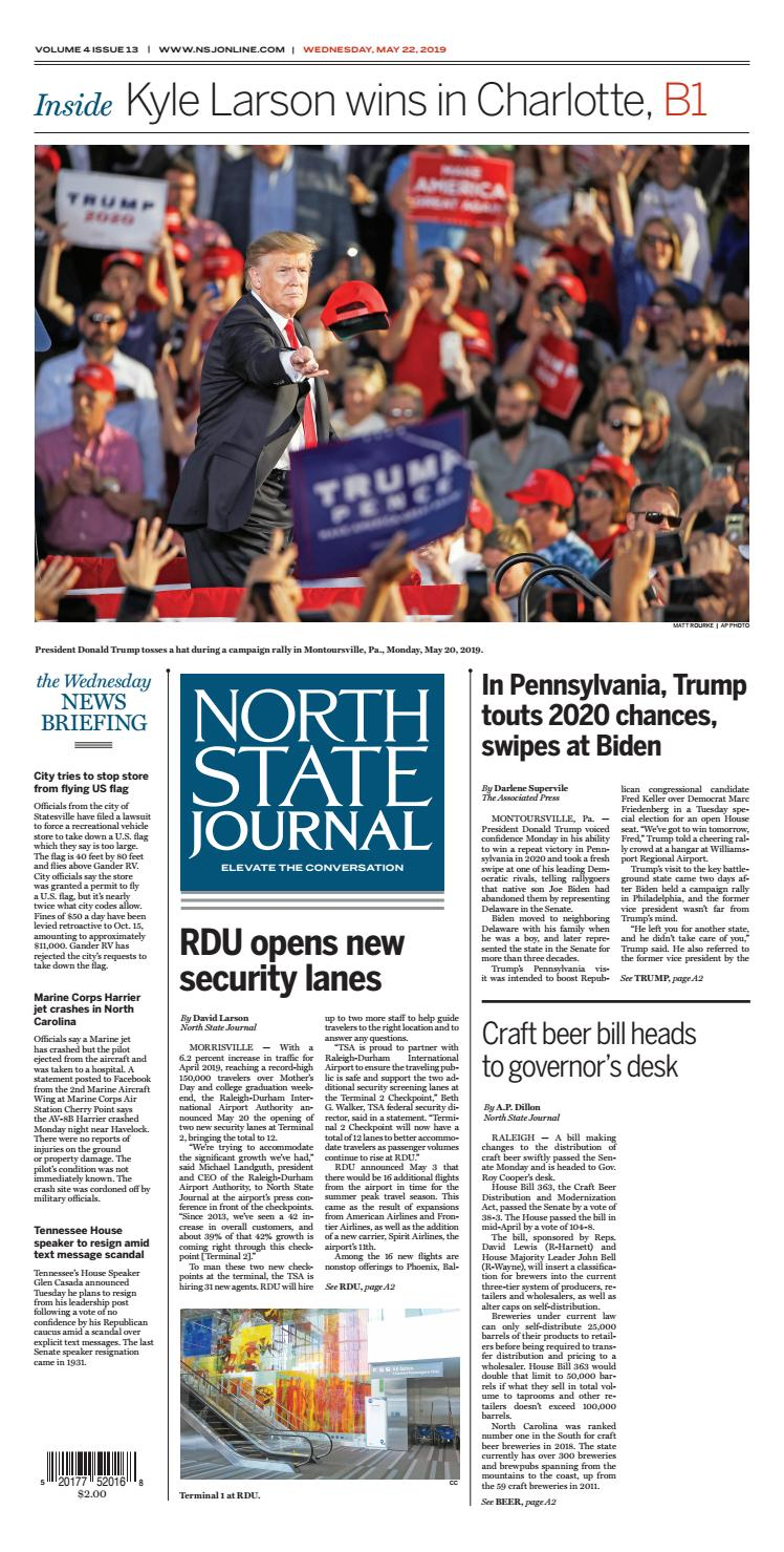 North State Journal Vol  4, Issue 13 by North State Journal