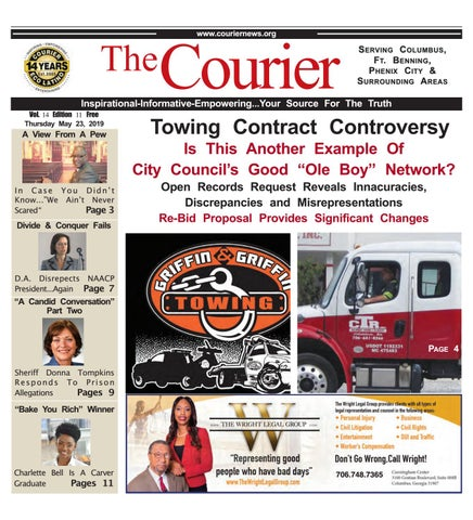 The Courier Eco Latino Newspaper 05-23-2019 by Webbasedpublications