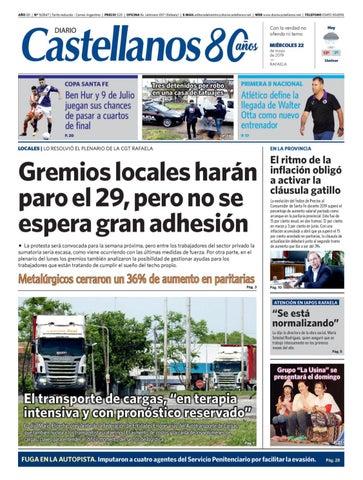 Diario Castellanos 22 05 19 by Diario Castellanos issuu