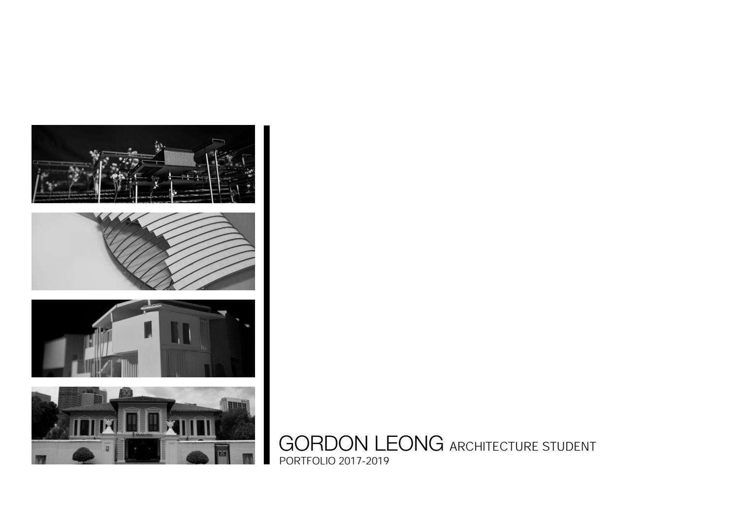 ARCHITECTURE PORTFOLIO Y2 by Gordon Leong - issuu