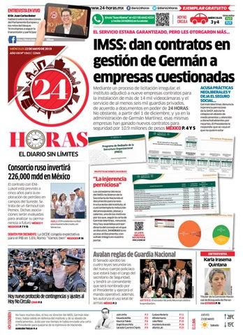 91e051e0b9 22 | Mayo | 2019 by Información Integral 24/7 SAPI de C.V. - issuu