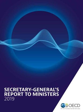 Secretary-General's Report to Ministers 2019 by OECD - issuu