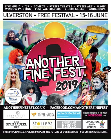 Another Fine Fest 2019 - 15th - 16th June - Ulverston by Another