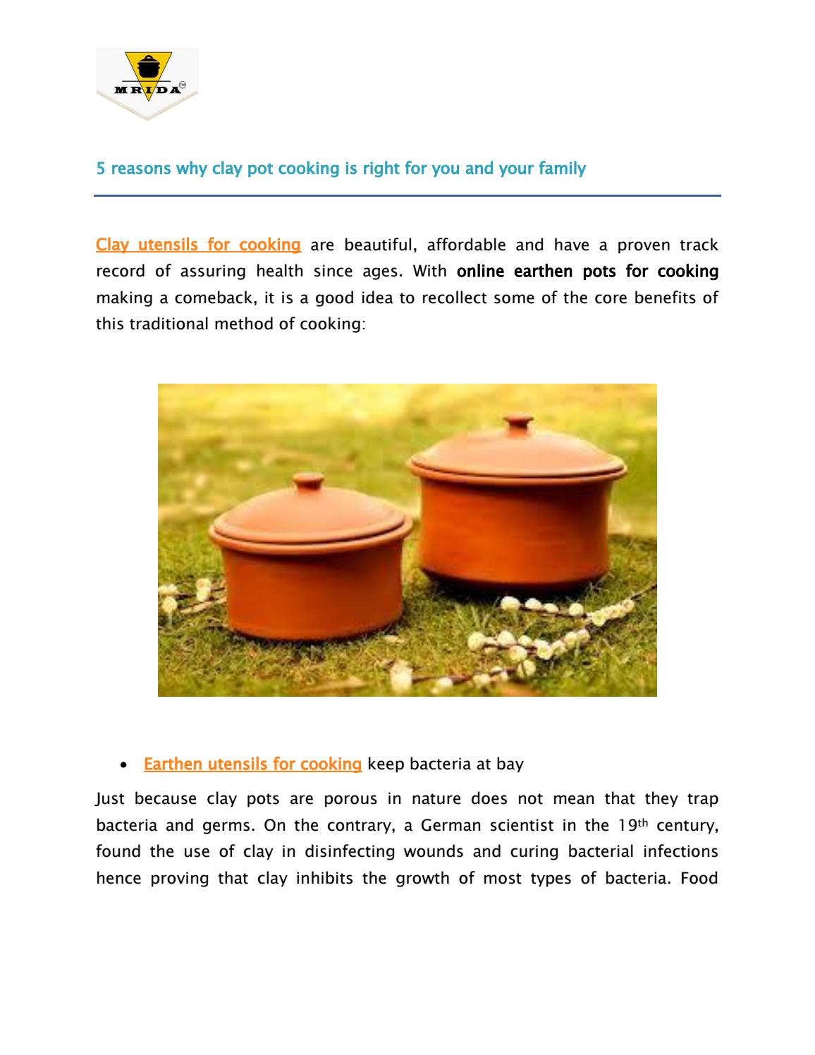 clay pot meaning 2 reasons why clay pot cooking is right for you and your family by