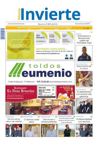 6bb1c8bcf6b5 321 Mayo 2019 by Periódicos Invierte Palencia - issuu