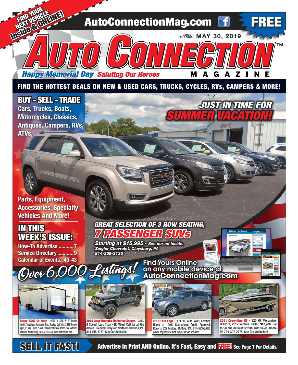 05-30-19 Auto Connection Magazine by Auto Locator and Auto