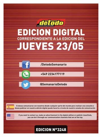 9e1b56977 Semanario Detodo - Edición N° 3248 - 23/05/2019 by Semanario Detodo ...