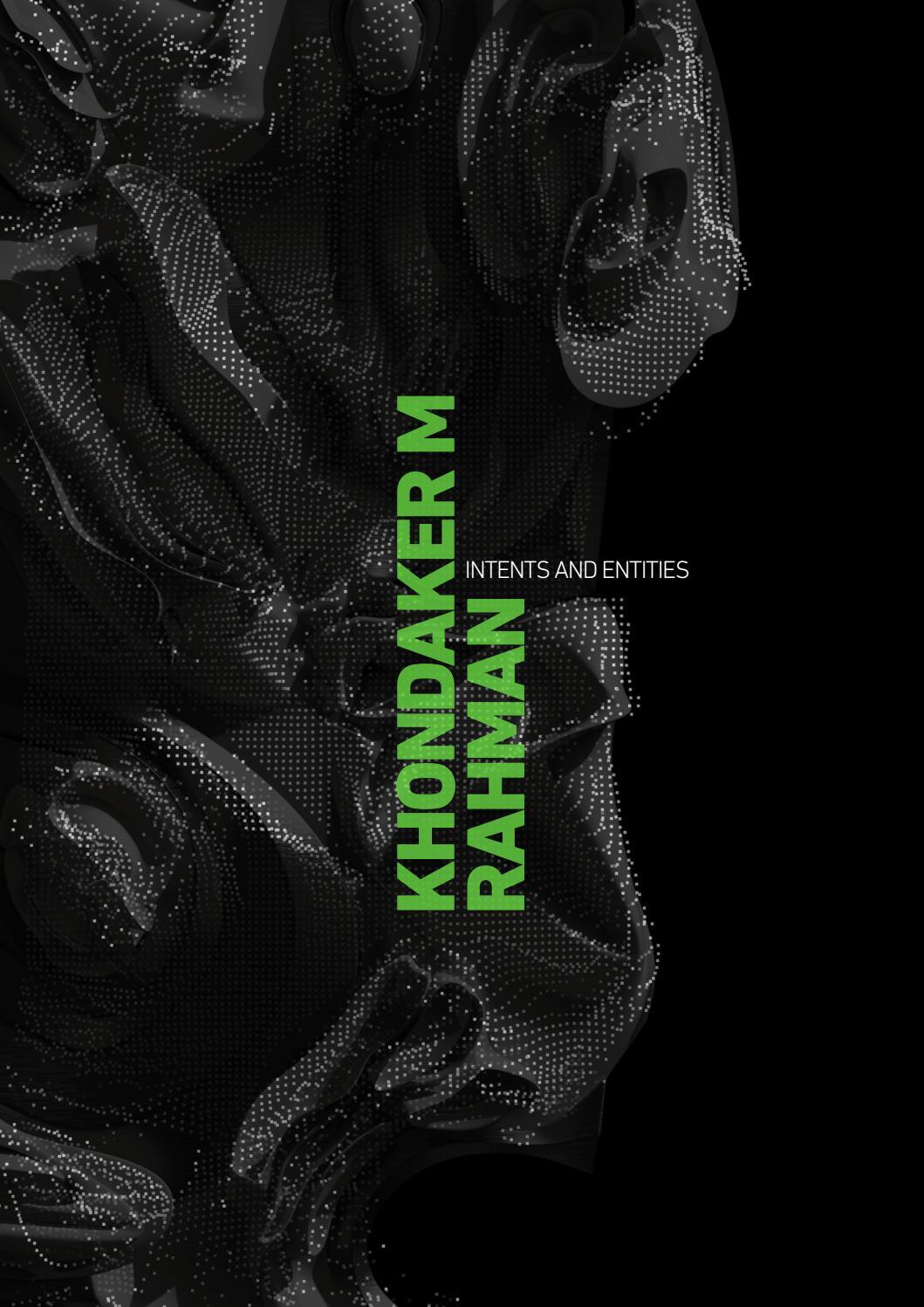 Khondaker M Rahman Msd Aad 2019 Portfolio By Onie Rahman Issuu