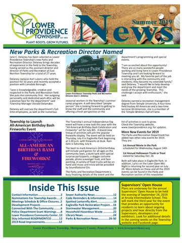 Lower Providence News Summer 2019 by Franklin Maps - issuu