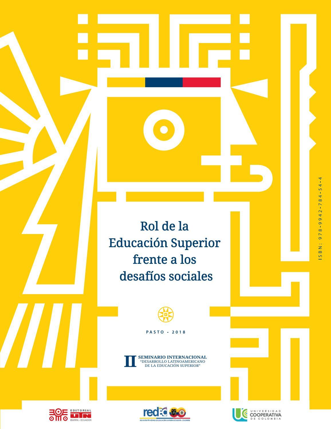bb9dd890f Rol de la Educación Superior Frente a los Desafíos Sociales by ...