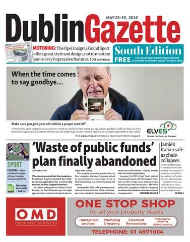 247ec0a18bb72 Dublin Gazette: South Edition by Dublin Gazette - issuu