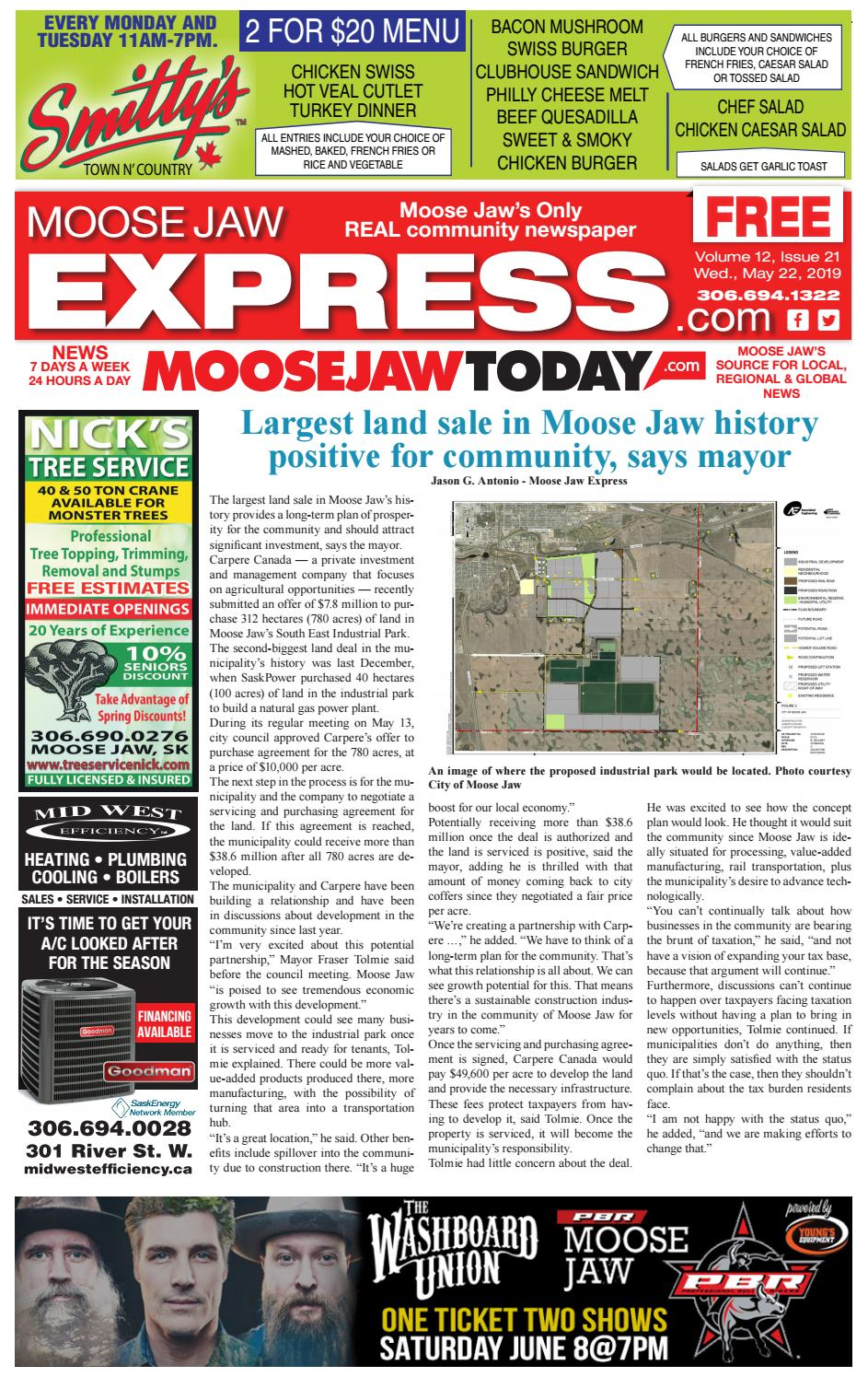 7ece4878c99 Moose Jaw Express by Moose Jaw Express - issuu