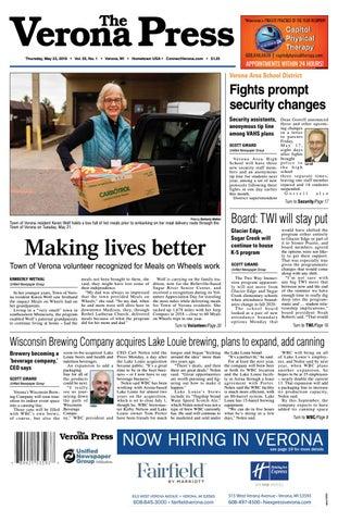 5/23/19 Verona Press by Woodward Community Media - issuu