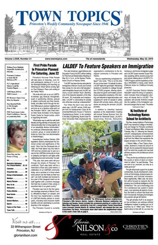 Town Topics Newspaper, May 22 by Witherspoon Media Group - issuu
