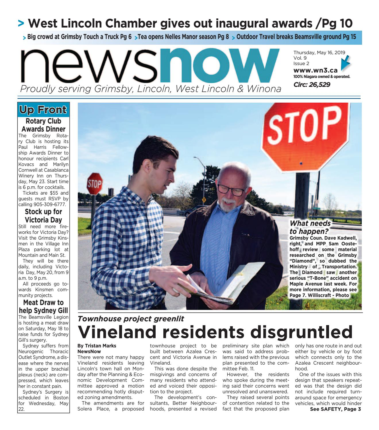 NewsNow E-Edition May 16 2019 by newsnow Niagara - issuu