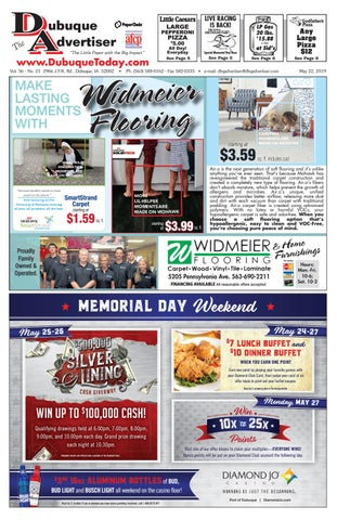 The Dubuque Advertiser May 22, 2019 by The Dubuque Advertiser - issuu