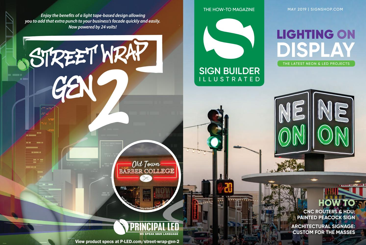 Sign Builder Illustrated May 2019 by Sign Builder