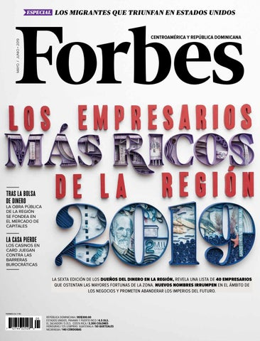 2b1004bbc651 Forbes Centroamérica by Forbes México - issuu