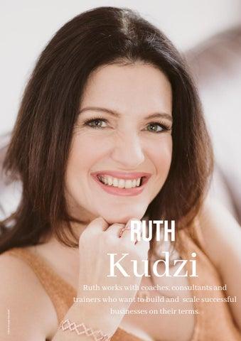 Page 6 of Feature Interview - Ruth Kudzi