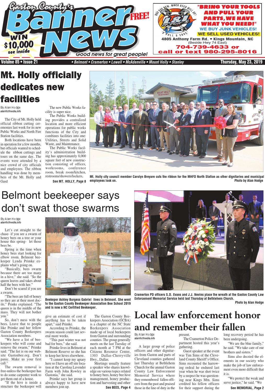 Banner-News 5-23-19 by Community First Media - issuu